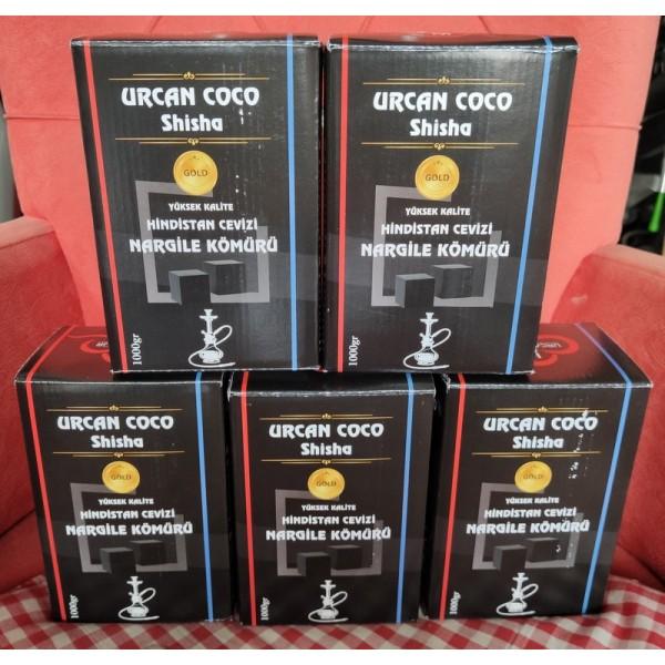 Urcan Coco Shisha Küp Nargile Kömürü
